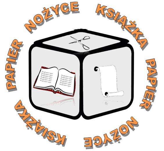 Logo Książka Papier Nożyce
